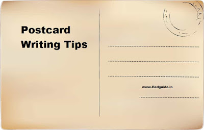 Postcard Writing Format (Steps by Steps Process)