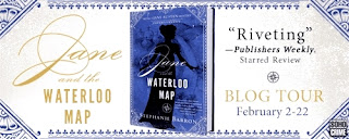 Jane and the Waterloo Map by Stephanie Barron - Blog Tour