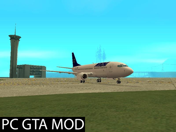 Free Download Boeing 737-300 (Livery Pack)  Mod for GTA San Andreas.