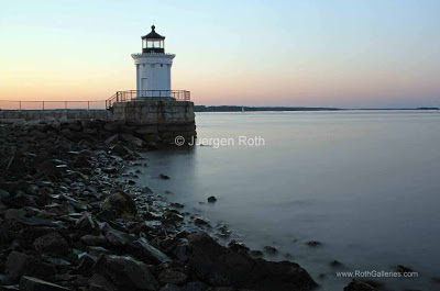 Where in the World is Juergen?: Scenic Maine Breakwater