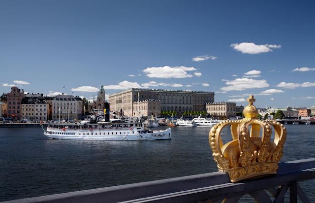 İsveç Stockholm Kraliyet Sarayı