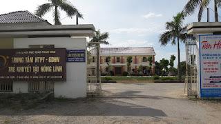 Trung tâm Hỗ trợ Phát triển Giáo dục Hòa nhập Trẻ khuyết tật Hồng Lĩnh: Cắt băng khánh thành và làm phép Cơ sở may Phaolô