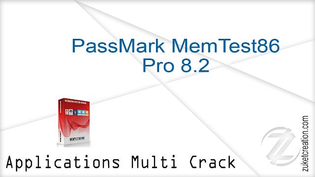 PassMark MemTest86 Pro 8.2   |   9 MB