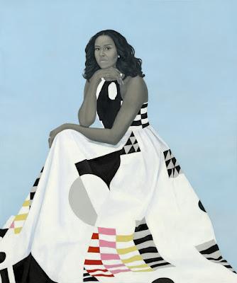 Michelle LaVaughn Robinson Obama (2018), Amy Sherald
