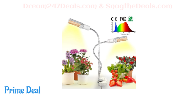 50% off LED Grow Light for Indoor Plants