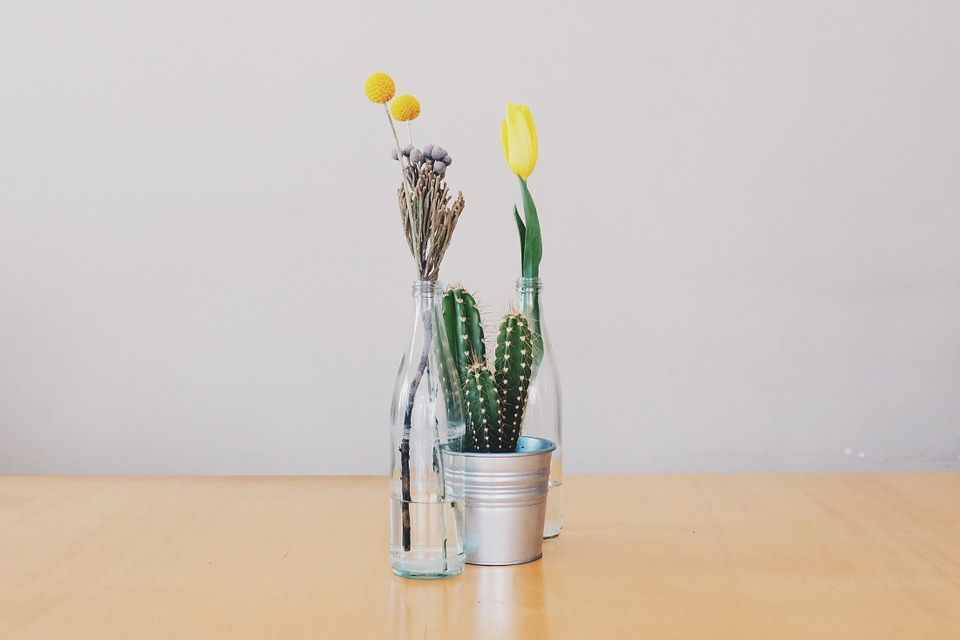 simple ideas for flowers