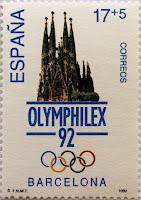 OLYMPHILEX 92 BARCELONA