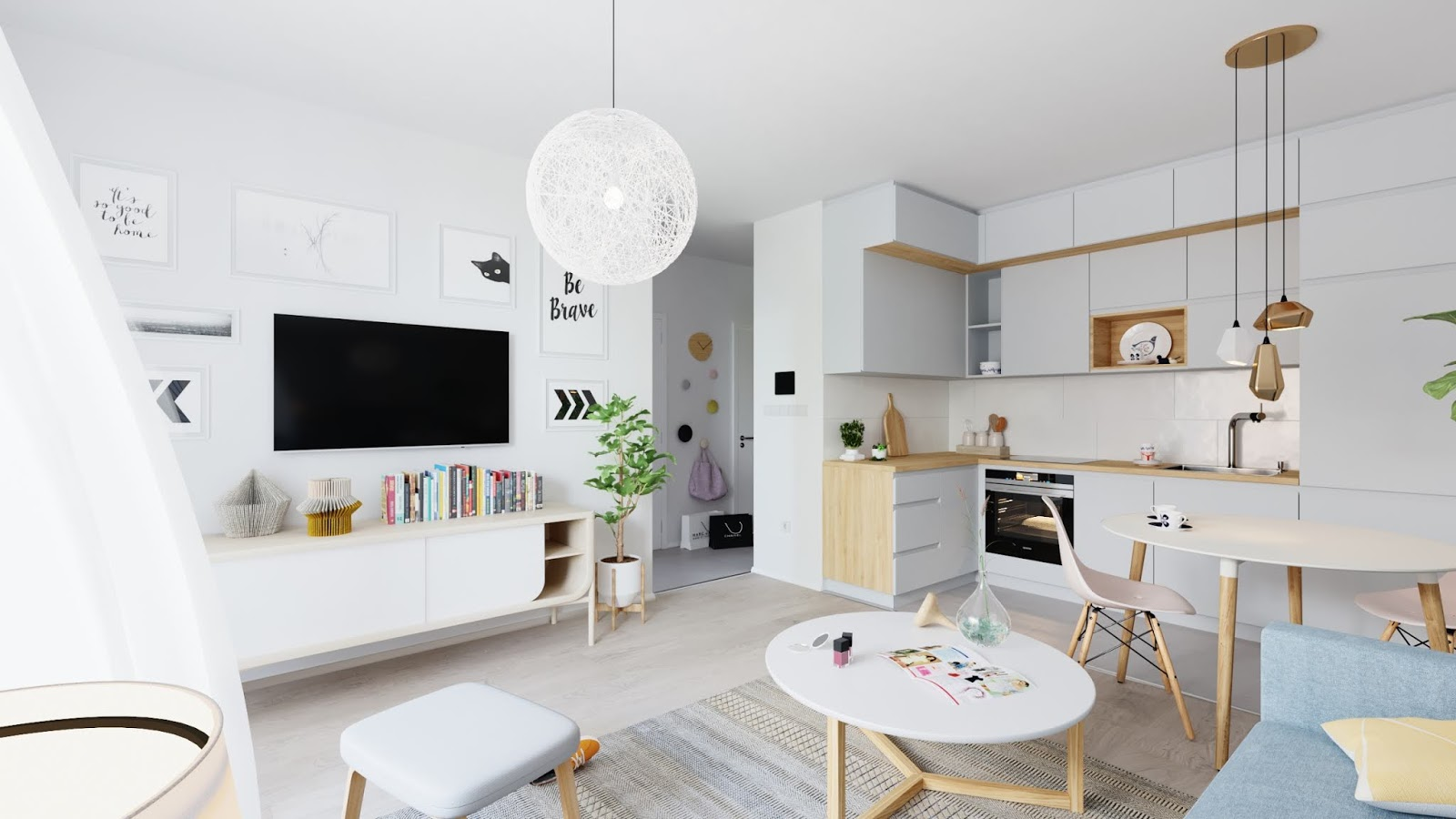 nappali lakberendezédése