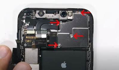 remove and change iPhone 12 Pro cameras