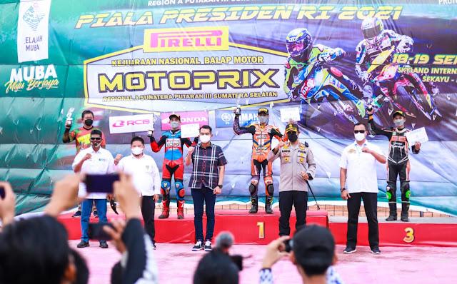 192 Pembalap Rebut Piala Presiden di Muba