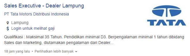 Lowongan Kerja Kabupaten Tulang Bawang Barat 2019