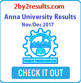 Anna University Results Nov Dec 2017 Results date