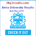 Anna University Results Nov Dec 2017 Results date - 2by2results Updates