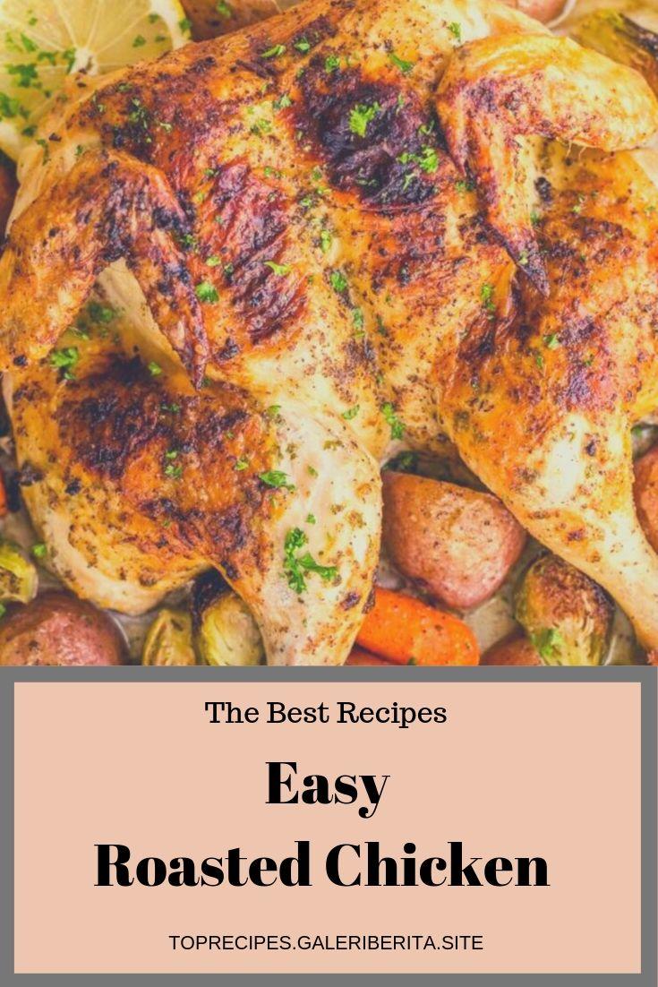 Easy Roasted Chicken + VIDEO | chicken animal honey garlic chicken, greek chicken, chicken stirfry, roasted chicken, chicken backyard, chicken curry, chicken tetrazzini, Tuscan chicken, chicken cordonbleu, balsamic chicken, pesto chicken, breaded chicken, sheet pan chicken, keto chicken, chicken strips, #balsamicchicken #pestochicken #breadedchicken #sheetpanchicken #ketochicken #chickenstrips #chickendrumsticks #chickenbroccoli #chickenmushroom #chickenbreastrecipes #chickendrawing #chickenillustration #chickenart #chickenbacon #creamychicken #chickensandwich #chickenvideos #chickencartoon #chickennuggets #italianchicken #skilletchicken #mexicanchicken #chickennoodle #pulledchicken #chickenphotography #chickenspinach #chickenwraps #chickenstew #chickenlogo #chickenaproducts