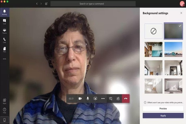 You don't need any additions ... You can change the background in Microsoft Teams with ease