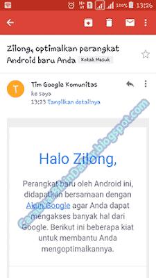 daftar email google