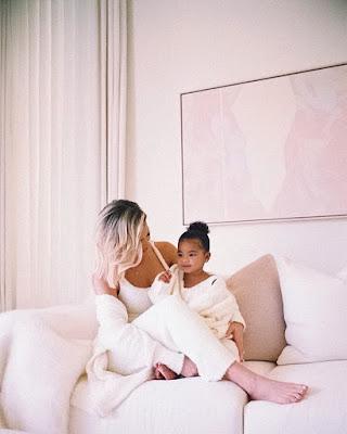Khloe Kardashian and True Thompson latest photos
