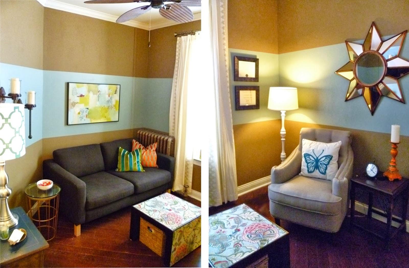 Interior Design Minnesota Art Therapy Office