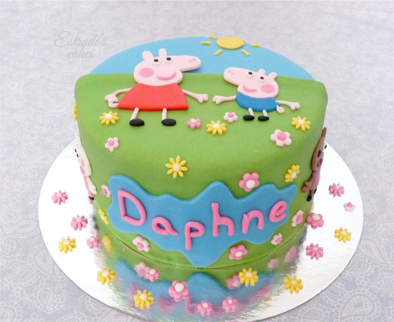 Estrade's cakes: TARTA PEPPA PIG