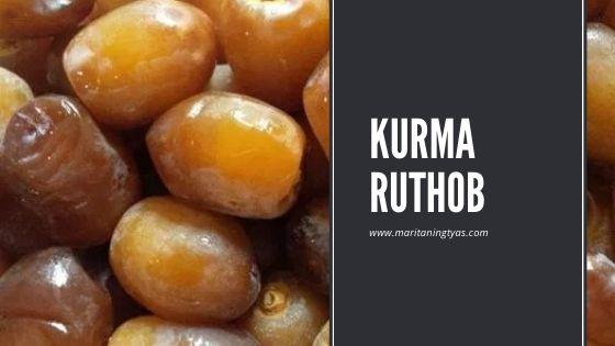jenis kurma ruthab