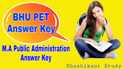 BHU-M.A-Public-Administration-Answer-Key