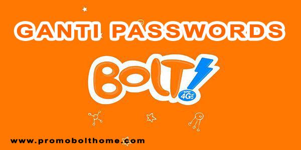 promo bolthome unlimited: Cara Ganti Password Bolt Home