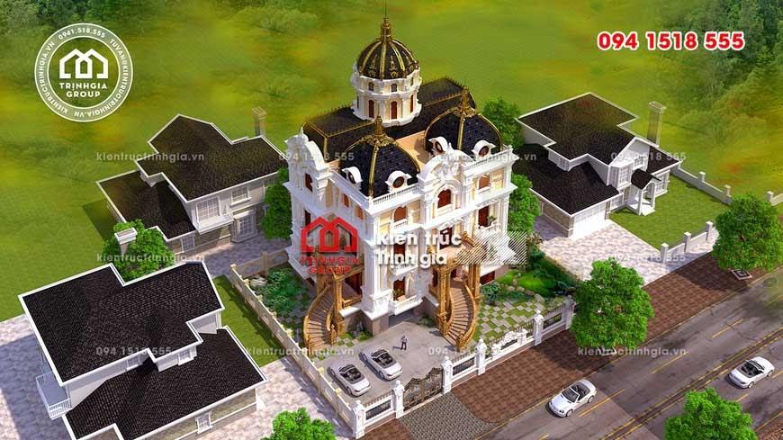 Những hình ảnh lâu đài đẹp bậc nhất ở Việt Nam về đêm - Ảnh 1