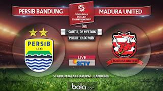 Persib bandung Vs Madura United 28 Mei 2016