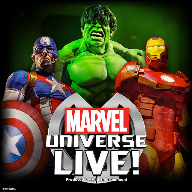 Action Packed #MARVEL Universe Live! Heads to #SouthAfrica @showtime_sa #MarvelSA @MarvelOnTour