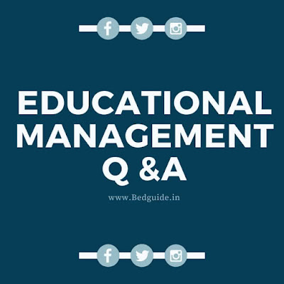Educational Management Questions and Answers PDF