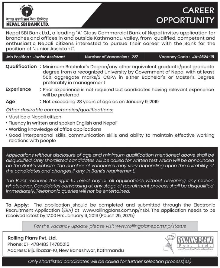 jobs for SLC students – KaamPayena Com