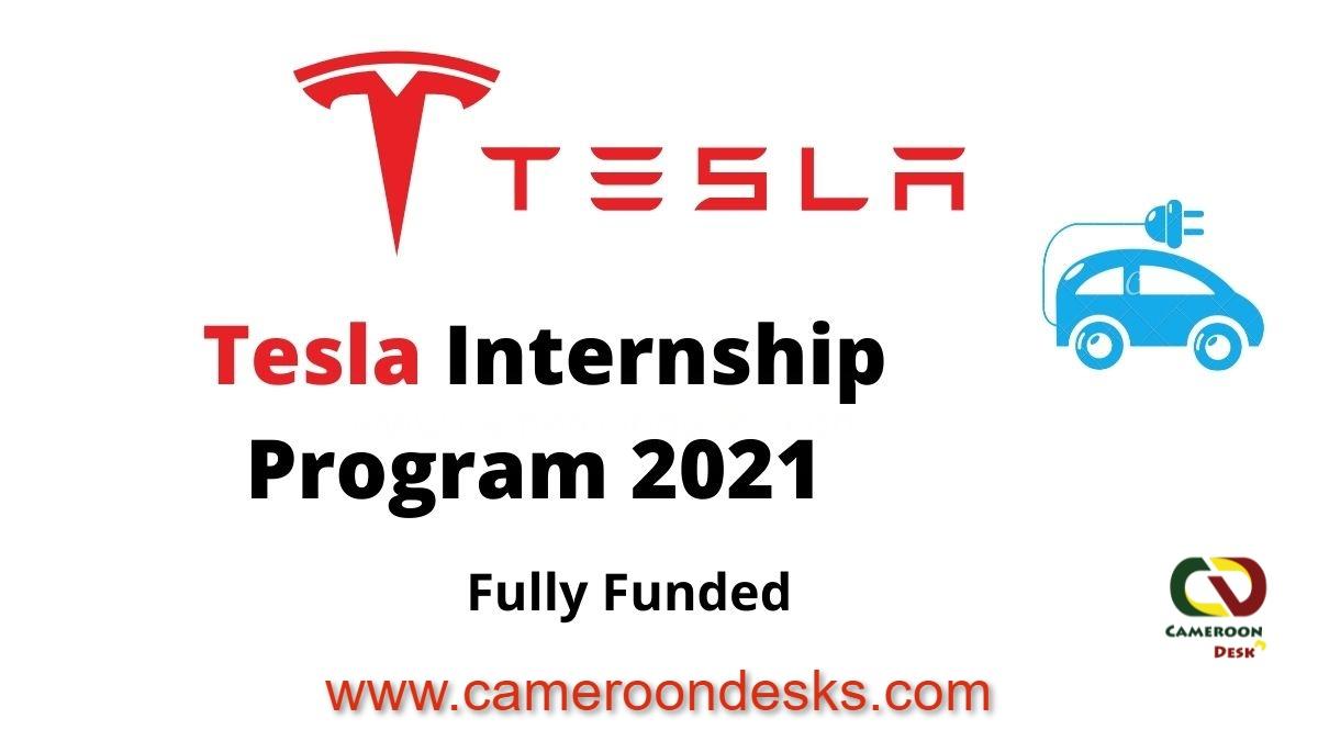 Tesla Paid Internship Program 2021