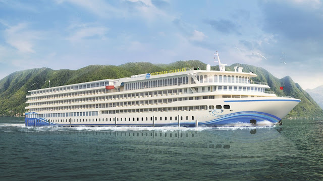 World's biggest stream journey vessel to be propelled in 2020 on the Yangtze River