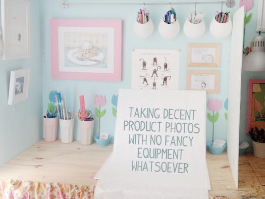how to take produc photos
