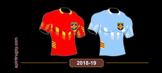 Histoire du maillot de rugby de Perpignan
