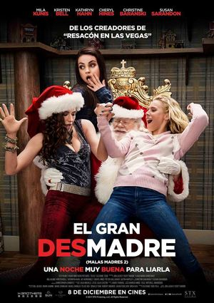 Poster A Bad Moms Christmas 2017