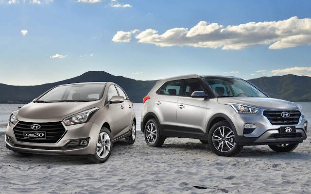 Hyundai HB20 e Creta: central BlueMedia agora roda Waze