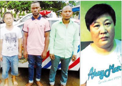Fake embassy found in Lagos, two Chinese arrested - CHANGED NIGERIA NEWS