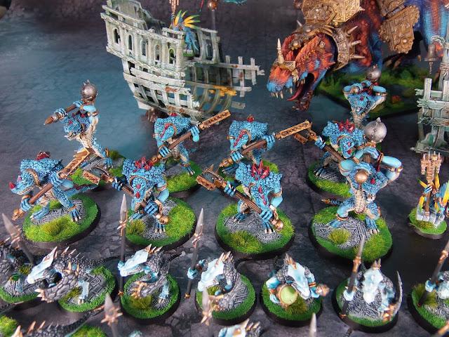 lizardmen kroxigors warhammer
