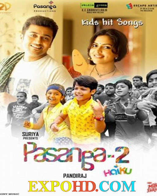 Pasanga 2 2015 Movie Download 720p | HDRip 264 ACC 1.3Gb [G.Drive]