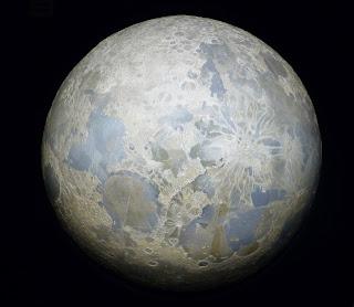 Maquette de la Lune Palais de la Découverte Paris