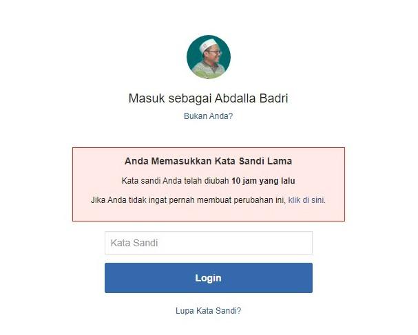 facebook hilang password bagaimana cara mengatasinya