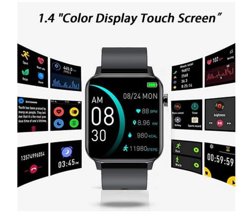 Andfive Aluminum Fitness Tracker Smart Watch