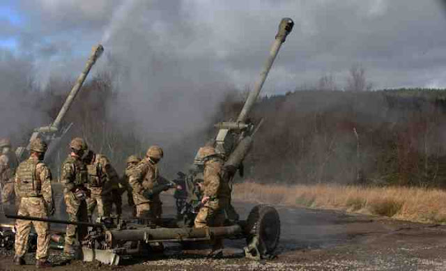 Inggris Cari Pengganti Howitzer Tarik 105mm L118 Light Gun