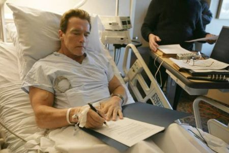 Arnold Schwarzenegger Speaks About His Latest Heart Surgery
