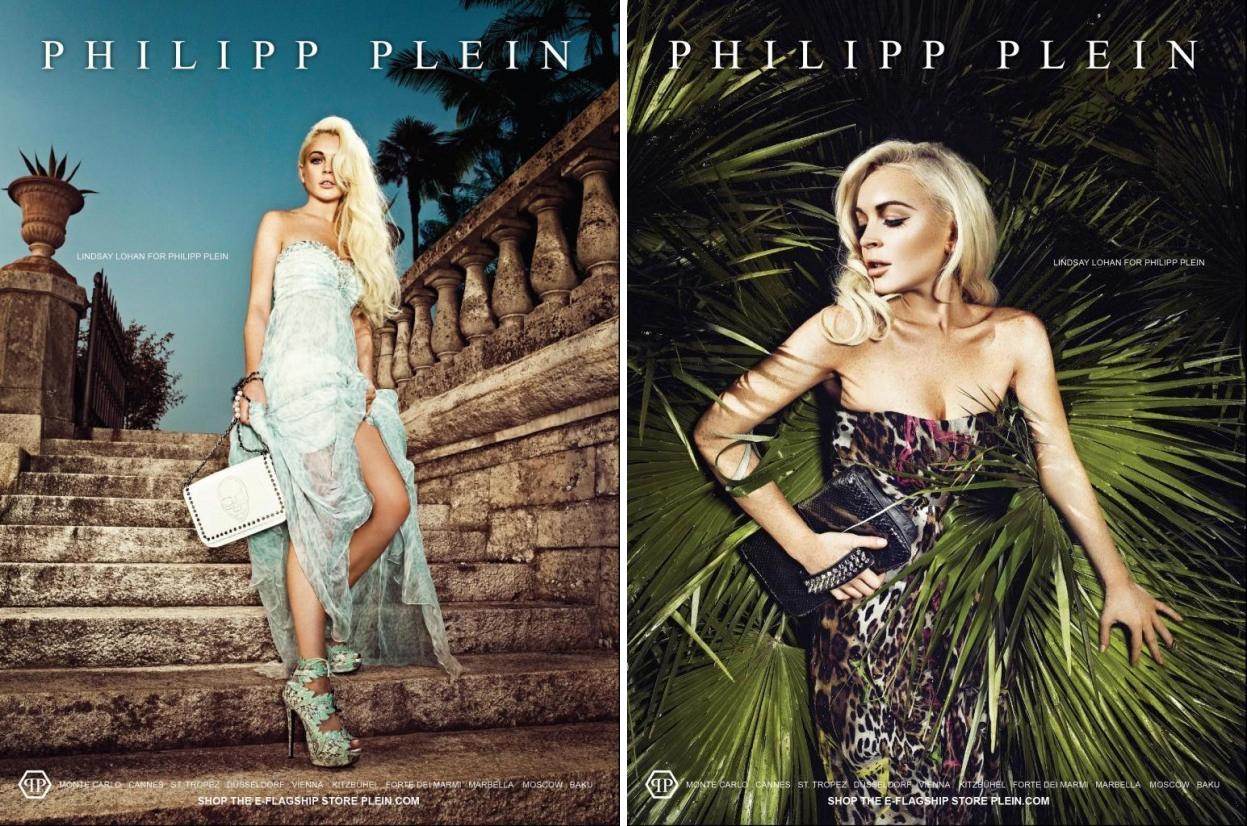 b618f6533c6 Lindsay Lohan's Philipp Plein Campaign. posted on: Wednesday, 11 January  2012