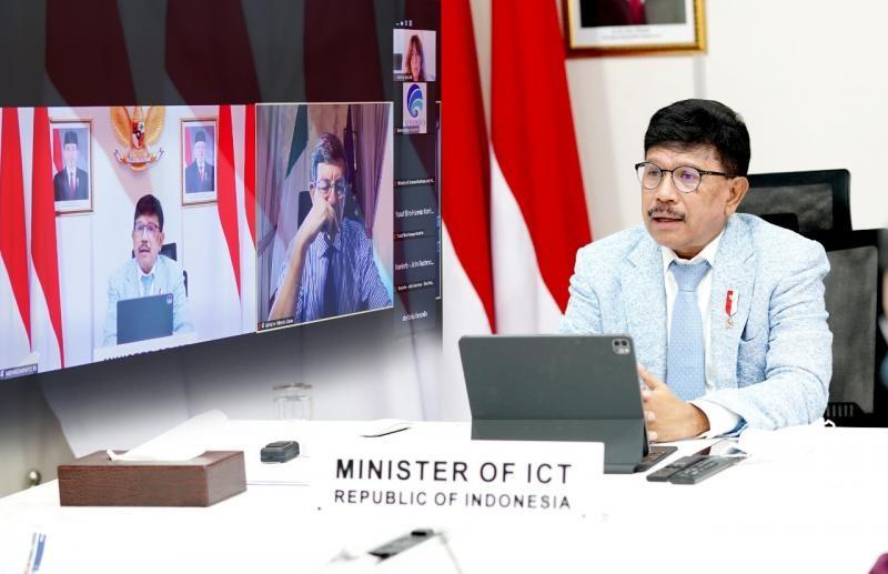 Hadiri Pertemuan G20 Virtual, Menkominfo Ajak Wujudkan Inklusi dan Kesetaraan Digital