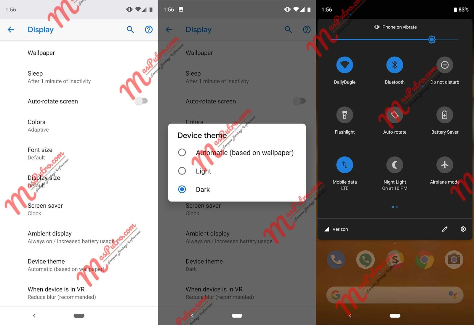 Cara mengaktifkan Dark Mode Instagram di Android