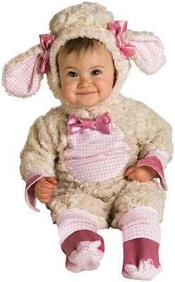 Pink Baby Lamb Infant Costume