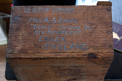 soldiers gift box davis 59th regiment HAA WW2